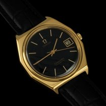 Omega c. 1978 Vintage Seamaster, Date - 18K Gold Plated & SS