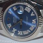 Rolex Datejust II 18K White Gold Diamonds