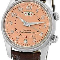 "Girard Perregaux ""Traveler II"" Alarm GMT Strapwatch."