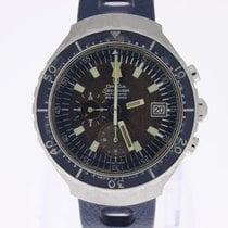 Omega Seamaster 120 Chronograph Big Blue tropical unpolished