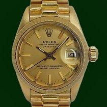 Ρολεξ (Rolex) DateJust 6917 Lady President 18k Yellow Gold