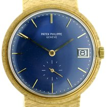 Patek Philippe Calatrava 3445 750/18 Gold aus 1976 mit...