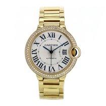 Cartier Ballon Bleu Yellow Gold Diamond Bezel Automatic...