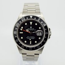 Rolex GMT Master II 16710 RECTANGULAR DIAL Box and Papers