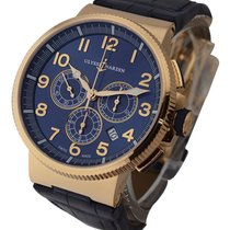Ulysse Nardin Marine Chronograph 43mm in Rose Gold