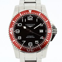 Longines Hydroconquest Automatic Diver 300m Ref. L3.695.4 Red...