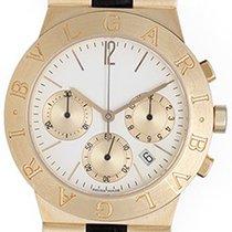 Bulgari Diagono Men's 18k Yellow Gold Chronograph CH 35 G...