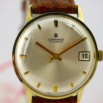 Junghans Handaufzug in 14kt Gold mit Kaliber 620.52