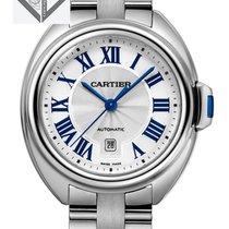Cartier Clé De Cartier Stainless Steel White Automatic - Wscl0005