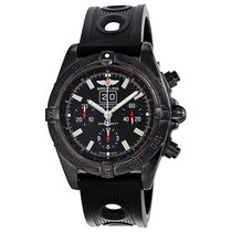 Breitling Blackbird Chronograph Automatic Mens Watch M4435911-...