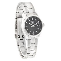 TAG Heuer Carrera Series Ladies Black Swiss Quartz Watch...