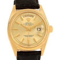Rolex President Day-date 18k Yellow Gold Vintage Mens Watch 1807