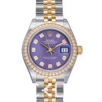 Rolex Lady Datejust Lavender Steel/18k Yellow Gold Dia 28mm -...