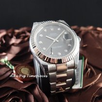 Rolex 116334G Datejust II Rhodium Diamond Dial [N E W]