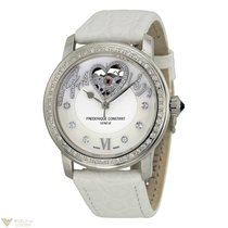 Frederique Constant Amour Steel Diamonds Pearl Ladies Watch
