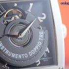 De Grisogono Men's Instrumento Doppio Tre Steel on Black...