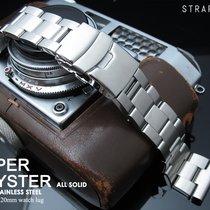 MiLTAT 20mm Oyster Bracelet, Brushed, Common Use