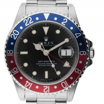 Rolex GMT Master II Open 6/9 Rot Blau Pepsi Stahl Automatik...