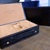 Franck Muller Long Island Black-Alligator-Embossed-Leather- Box