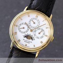 Blancpain 18k Gold Villeret Ewiger Kalender Perpetual Automatik