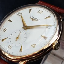 Longines Oversize Vintage Massive Longines in 18K/750 Red Gold