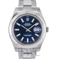 Rolex Datejust II Blue Dial Oyster Bracelet - 116334