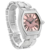 Cartier Roadster Ladies Pink Dial Limited Edition Watch W62017v3