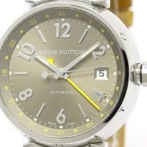 Louis Vuitton Polished Louis Vuitton Tambour Gmt Steel...