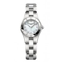 Baume & Mercier Linea  Mother of pearl dial with diamonds