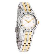 Tissot Ballade III Ladies 2Tone Swiss Quartz Watch T031.210.22...