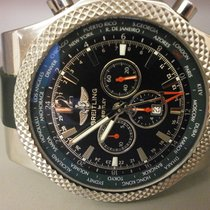 Breitling Bentley Gmt Green Bezel 49mm Limited Edition Watch...