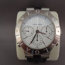 Bulgari Diagono Chrono Rattrapante white gold