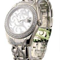 Rolex Unworn Masterpiece Mid Size White Gold with Diamond...