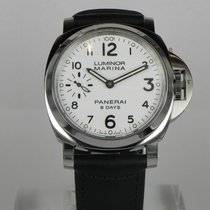 Panerai LUMINOR MARINA 8 DAYS WHITE DIAL PAM563