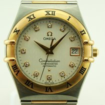 Omega Constellation 50 years Stainless steel and Gold diamond...
