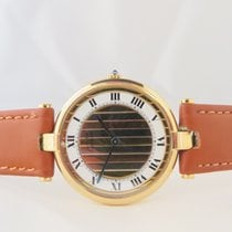 Cartier Must De Paris Vermeil Ronde Gold Plated
