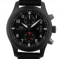 IWC Flieger Chronograph Top Gun Keramik Black Automatik...
