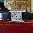 Cartier Must De Cartier Tank Vermeil Ref. 2264 Sterling Silver...