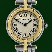 Cartier Panthere Lady Roman Dial 18k Gold Steel Box&Papers