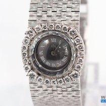 Ebel Weißgold Damenuhr mit Diamanten - SEHR GUT- 1970