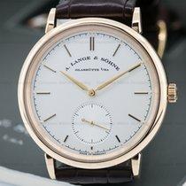 A. Lange & Söhne Saxonia Automatik 18K Rose Gold / Silver...