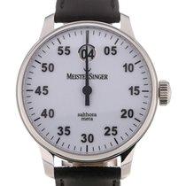 Meistersinger Salthora Meta 43 Automatic White Dial