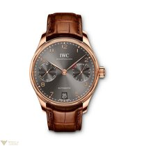 IWC Portuguese Automatic Red Gold 18K Ardoise Men's Watch