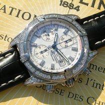 Breitling Chronomat Evolution J13356 Wg 18k 750 Mop  Fullset...
