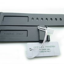 Panerai Officine  Kautschuk Armband Rubber Strap 24/22mm Original