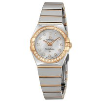 Omega Constellation Diamond Mother of Pearl Dial Ladies Watch...