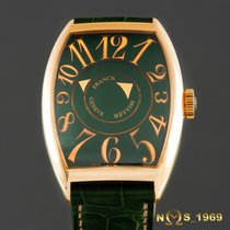 Franck Muller Double   Mystery   Green  Box & Paper