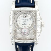 Breitling J28362 Bentley Flying B Baguette Diamond in White...