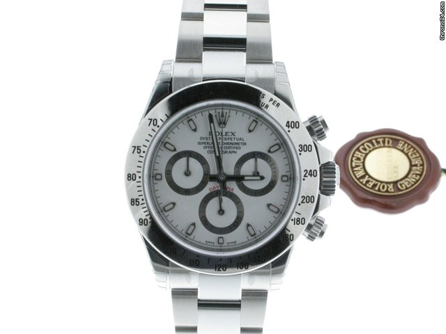 Rolex DAYTONA ACCIAIO WHITE DIAL NEW