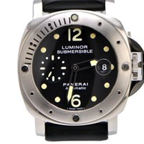 Panerai Luminor Submersible Pam 24 Steel Full Package